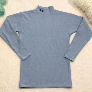 Under Armour Fitted Mock Long Sleeve Shirt